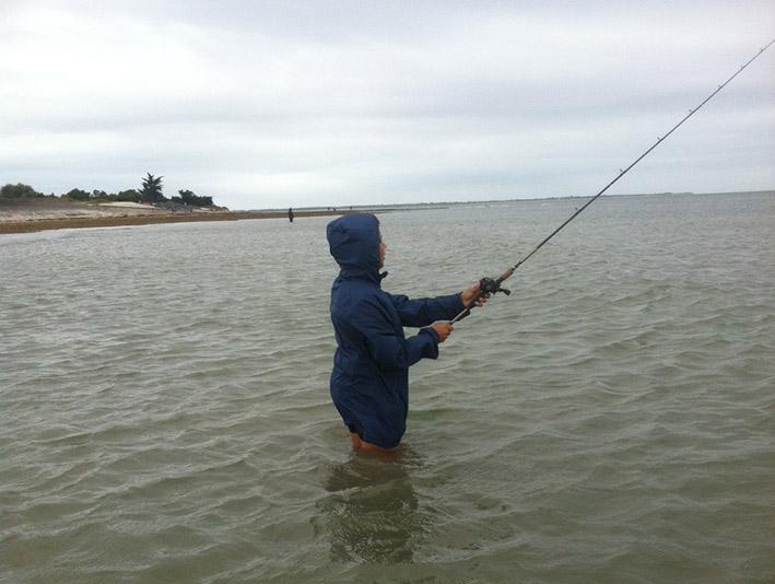 cours de pêche Enfant avec Moniteur Guide de pêche diplômé d'État