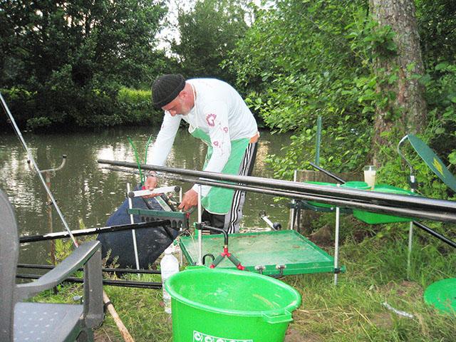 Pack pêche de la carpe à la grande canne (13 m)