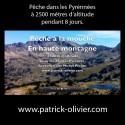 Vidéo pêche à la mouche en haute montagne à 2500m d'altitude