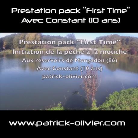 Vidéo prestation pack ''First Time'' initiation de la pêche  à la mouche avec Constant (10 ans)