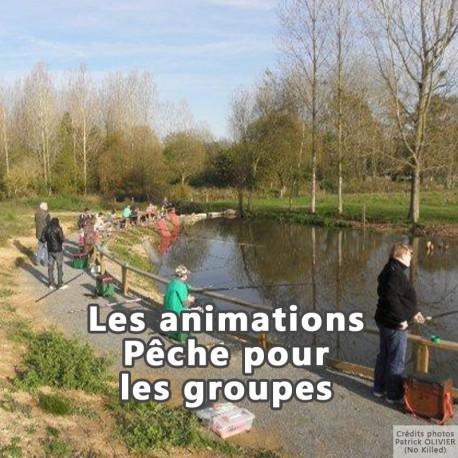 Les animations Pêche pour les groupes