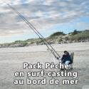 Pack Pêche en surf casting au bord de mer